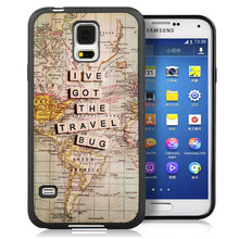 lve got the travel bug Style Soft TPU Skin Mobile Phone Cases For Samsung S4 S5 S6 S7 edge Note 2 Note 3 Note 4 Note 5 Cover