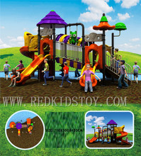 Exported to Haiti Top Quality Anti-UV Kids Outdoor Playground Equipment HZ-H008 20 Years' Manufacturer