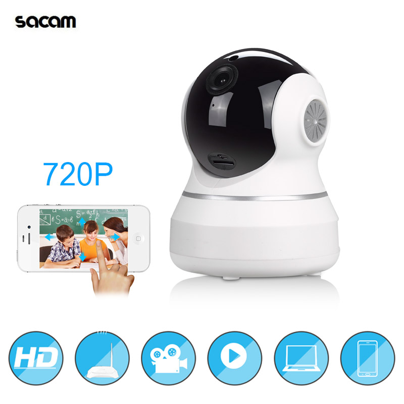 Home Security IP Camera Wireless Smart WiFi Camera WIFI Audio Record Surveillance Baby Monitor 720P PAN TILT HD Mini CCTV Camera<br>