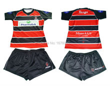 High quality wholesale cheap custom sublimated rugby jerseys