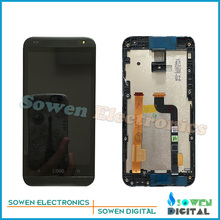 for HTC Desire 601 619d Zara LCD display with touch screen digitizer and frame assembly full sets, Black or Slivery,Test ok