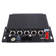 4CH Channel AHD Car Mobile DVR SD 3G Wireless GPS Realtime Video Recorder DC 12V Car DVR Camera Support G-sensor