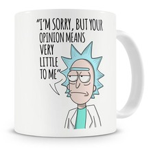 rick and morty mugs cup travel beer cup porcelain coffee mug tea cups kitchen home decal home decor novelty(China)