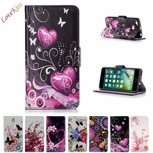Flower Leather Wallet Phone Case Fo Oneplus One Two 1 2 case cover For iPhone SE 5S 6 6S 7 Plus Flip Cover Stand Bag Card Holder
