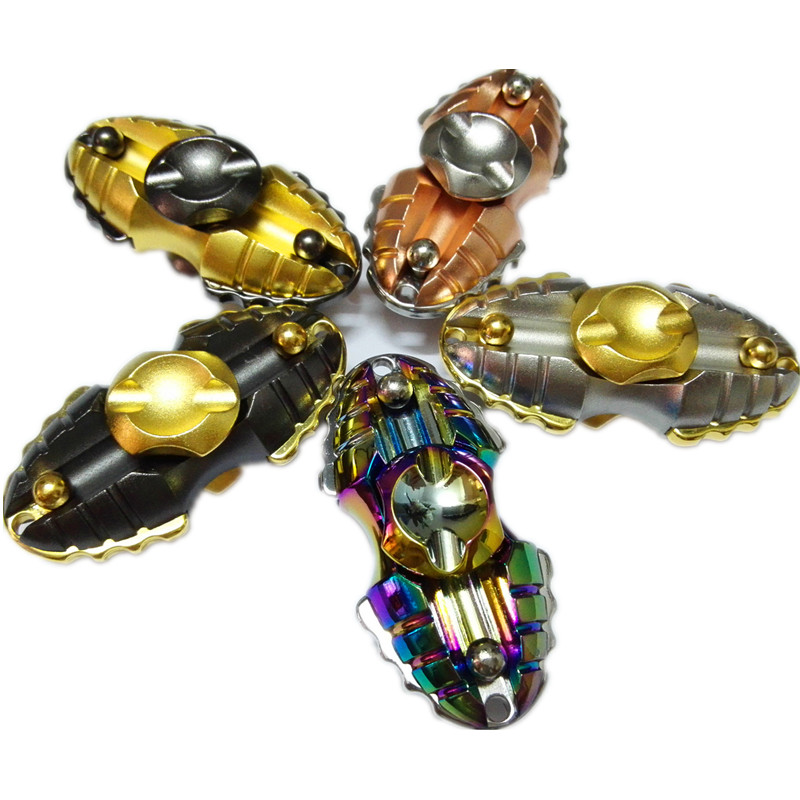2017 Fantasy Space Egyptian Beetle Colorful Metal Fidget Spinner Fingertip Gyro EDC Hand Spinner Autism ADHD Stress Relief Toys