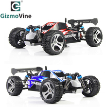 GizmoVine RC Car WLtoys A959 2.4G 1:18 Scale Off-Road Vehicle Buggy High Speed Racing Car Remote Control Truck 4 wheel Climber(China)
