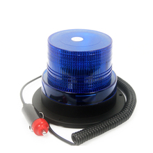 DC12V High power Blue Color 26 LED Car Truck school bus Warning flash beacon Strobe Emergency light Magnetic base