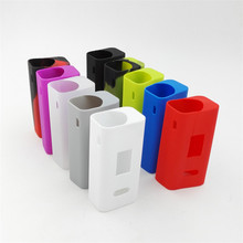 Colorful Silicone Case Sleeve Protective Cover Skin for Joyetech Cuboid 150w TC VW Vape Box Mod(China)