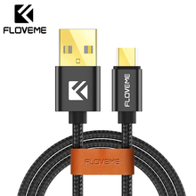 FLOVEME Micro USB Type C Cable Samsung Xiaomi Fast Charging Charger Lighting Cable iPhone Huawei Phone USB Data Cables