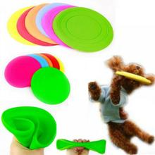 2017 HOT Fantastic Pet Dog Flying Disc Tooth Resistant Training Toy Play Frisbee Tide Free Shipping
