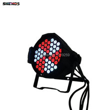Aluminum Alloy Led Par 54x9W RGB 3in1 LED Par Can for Party KTV Led Par Light DMX Stage Lights Business Lights DJ Lamp 54*9W