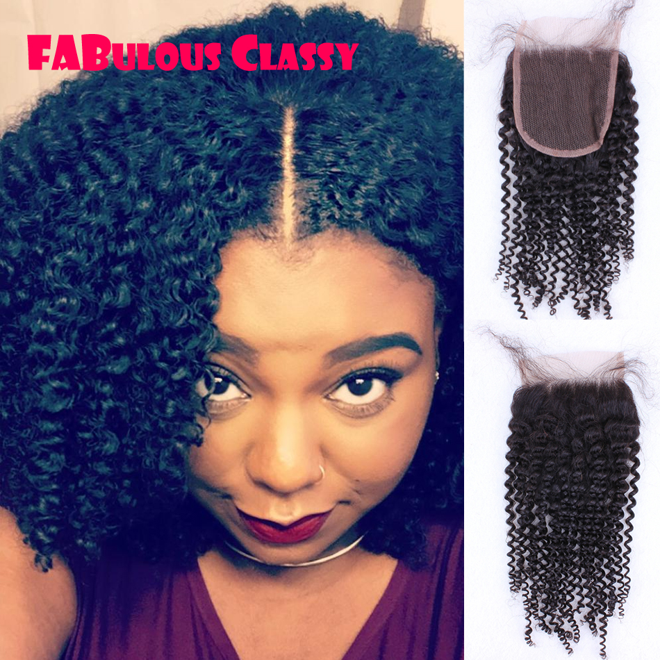 Mongolian Kinky Curly Lace Closure Virgin Afro Kinky Lace Closure Mongolian Kinky Curly Closure Middle Three Side Part Closure<br><br>Aliexpress