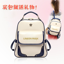 2017 new linkin park Lincoln Park shoulder student girlfriend street Climbing tourism bag(China)