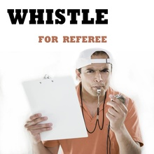 Whistle With Lanyard Referee Coach Survival Outdoor Safety Basketball Volleyball Football Tennis(China)