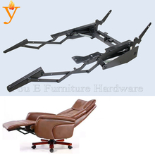Furniture Hardware Function Office Chair Mechanism Base Manual Extending And Adjust Leisure Chair Backrest(China)
