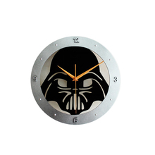 Fashion Creative Star Wars The black knight hanging a clock Wall art clock mute wall world