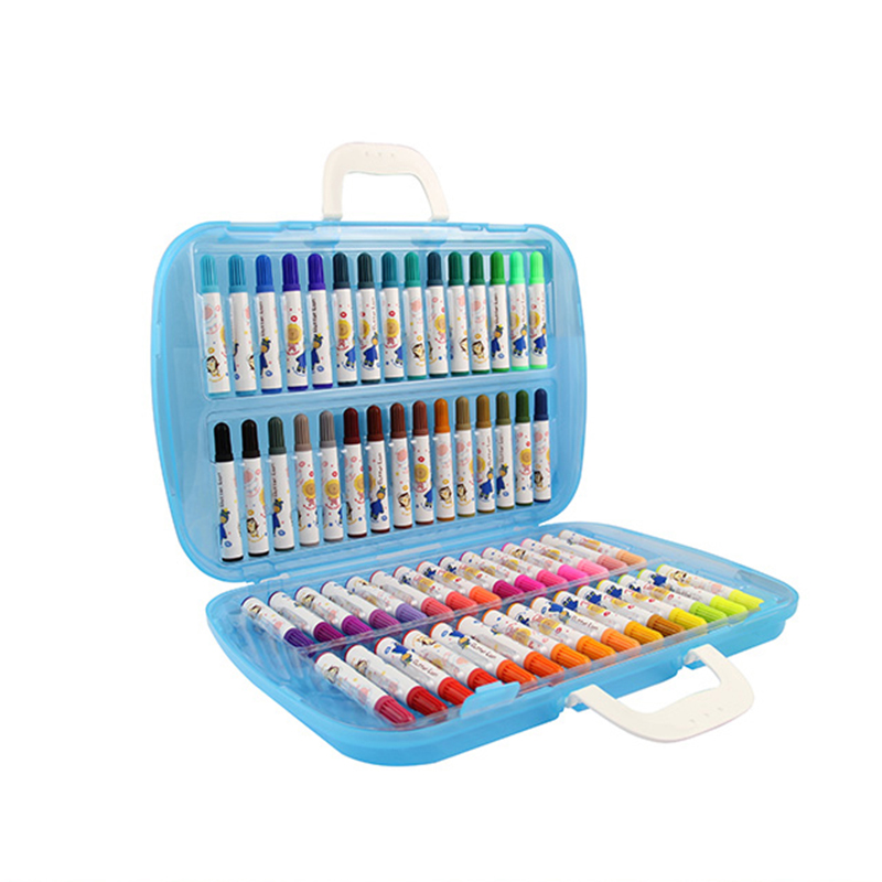 Simbalion Cream lion children 60 color watercolor pen special stationery set for students<br>