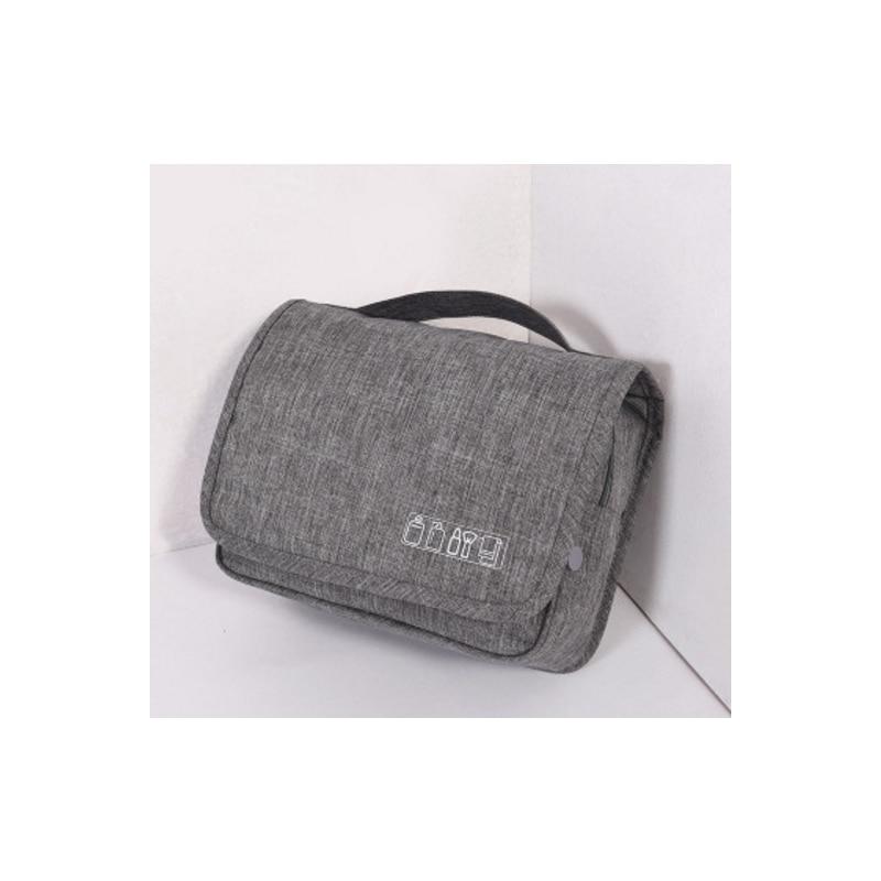 LF Sxsounai Travel Accessories Women's make up Purple Storage Bag Outdoor Climbing Hook Wash Cloth art Pouch Suitcase Case men