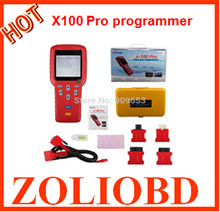 Newest Top x100 pro programmer DHL free x 100 plus pro Multi-brands update online AUTO key programmer with good quality x100 pro