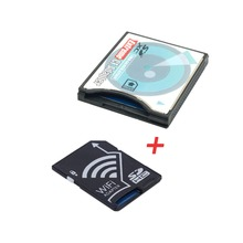 CY WIFI Adapter Wireless Memory Card TF Micro SD to SD SDHC to CF Compact Flash Card Kit for Cell Phone Tablet DC DV SLR Carema