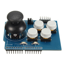 Game JoyStick Breakout Module Shield Button for PS2 Game Controller Expansion Board with Rocker Button Joystick