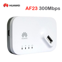Original unlocked Huawei AF23 300M LTE 4G 3G USB Sharing Dock WiFi Wireless Router AP Repeater Hotspot Access Point WAN/LAN Port