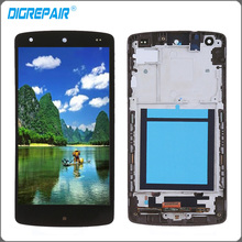 For LG Google Nexus 5 display D820 D821 LCD Display Touch Screen Digitizer with Bezel Frame Full Assembly Replacement parts(China)