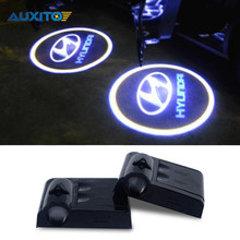 Car Led Door Logo Projector Welcome Laser Light For Hyundai i20 i10 i30 ix35 solaris accent elantra santa fe tucson getz sonata
