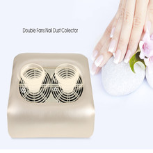 Powerful Salon Nail Dust Collector Nail Tools 48W Apparatus For Manicure Tools With Double Strong Fans Beauty Machine EU PLUG(China)