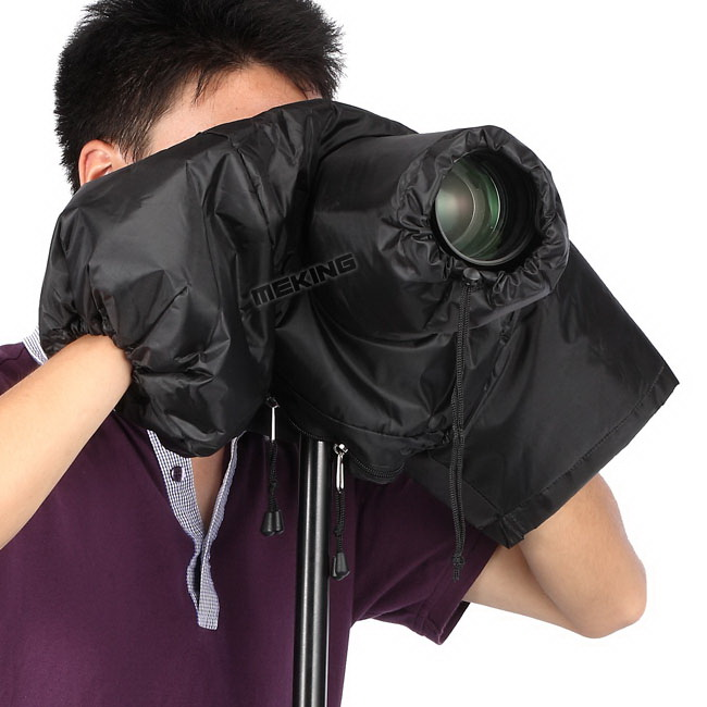 Meking Professional Camera Rain Cover Coat Dust Protector case bag Protective full cover waterproof Canon Nikon DSLR