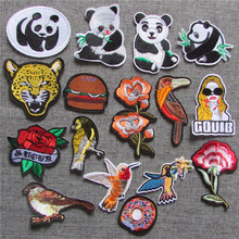 1pcs sell fashion style hot melt adhesive applique embroidery patch DIY clothing accessory patches stripes C5170-C5232