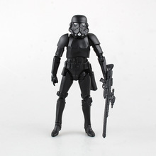 Star Wars 7 The Force Awakens figure toys Black Stormtrooper Collection Toys Imperial Army Model Fan gift For Children