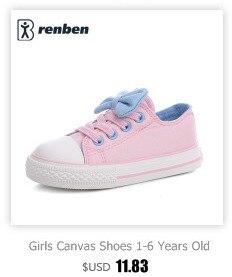 Enfants chaussures pour fille enfants toile chaussures garçons 7
