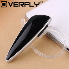 Bluetooth Headset Leaf Design Wireless Earphone with Mic Hands Free Stereo Music Bluetooth Headphone for Samsung Xiaomi Laptop(China)