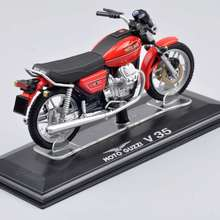 Collectible Juguetes Mini Italeri 1:22 Scale Moto Guzzi V35 Diecast Motorcycle Motorbike Model Toys Vehicles Gift B