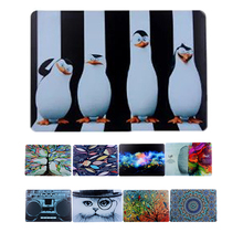 Luxury Cat Penguin Fishes Hard PC Laptop Cover For Apple Macbook Air 11 13 Pro 13 Retina 13 15 Flowers Notebook Case Coque