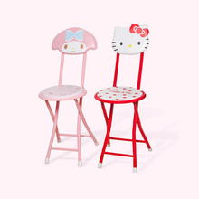 Buy Cartoon Folding Chairs Dining Chairs Fauteuil Enfant Kids Furniture Children Chair High Grade Product for $27.60 in AliExpress store