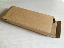 50 PCS Size 165x85x25mm 6.5x3.35x0.98 inch Electronic Product Packaging Kraft Paper Box Paper packaging The Kraft USB Box