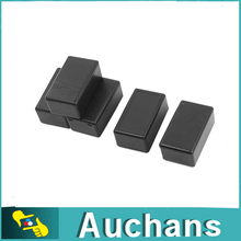 5 Pcs Black Plastic Electronic Project Box Enclosure Instrument Case 100x60x25mm