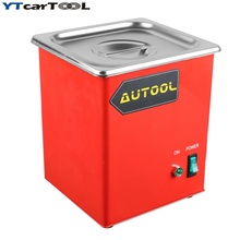 new  Ultrasonic Cleaner Petrol Gasoline injector Spark Plug Coke Clean for Launch CNC602A CT100 Auto Injector Cleaner