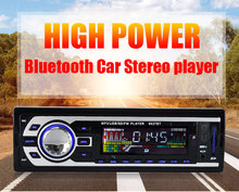 kebidu Car MP3 player Multimedia Player 1 Din MP3 Player Audio Support Bluetooth USB FM Radio OLED color display(China)
