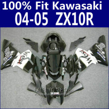 WEST Zx10r zx-10r 2004 2005 04 05 Best quality Fairings For Kawasaki Ninja Fairing kit EMS Free x17
