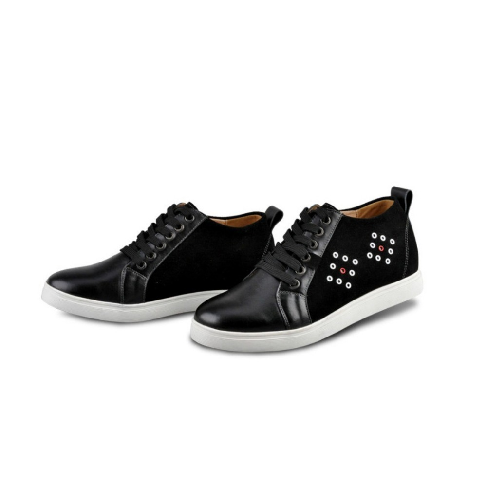 2.36 Inches Taller Height Increasing Elevator Shoes Genuine Leather Casual Elevated Shoes  D5567-2<br><br>Aliexpress