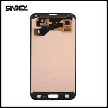 Sinbeda Super Amoled Silver/Black/Gold Color LCD Display For Samsung Galaxy S5 NEO G903 G903F G903M Touch Screen Digitizer Glass(China)