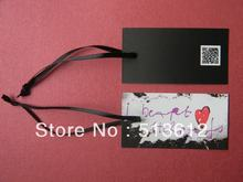art paper  hang tag/ swing tag/ clothing label/clothing tag