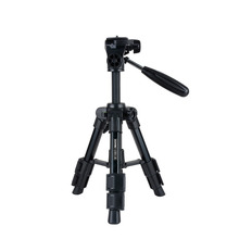 "Zomei Q100 20"" 3-way Fluid Head Mini Tripod Monopod Travel Camera Accessories Photography Portable Table Aluminum Tripod"