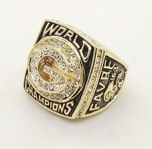 Wholesale Super Bowl 1996 Green Bay Packers Zinc Alloy  fashion Custom Sports Replica Men World Championship Ring