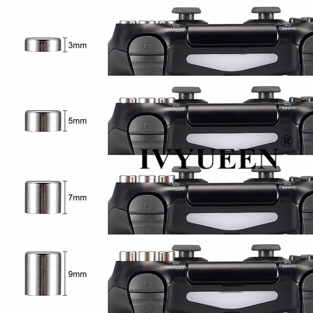for Dualshock 4 ps4 metal buttons 08