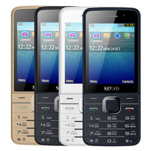 Original SERVO V9500 9500 Phone With Quad SIM 4 SIM card 4 standby Bluetooth Flashlight 2.8inch Cheap Cell Phone(China)