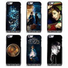 Fantastic Beasts and Where to Find Cover Case For Iphone 4 4s 5 5c 5s se 6 6s 7 8 plus x xiaomi redmi note oneplus 3 3T 4X 3s(China)